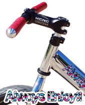 [STRIDER STJ4/PRO]大人気 軽量ハンドルカスタムセット!